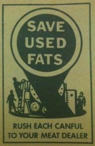saved used fats