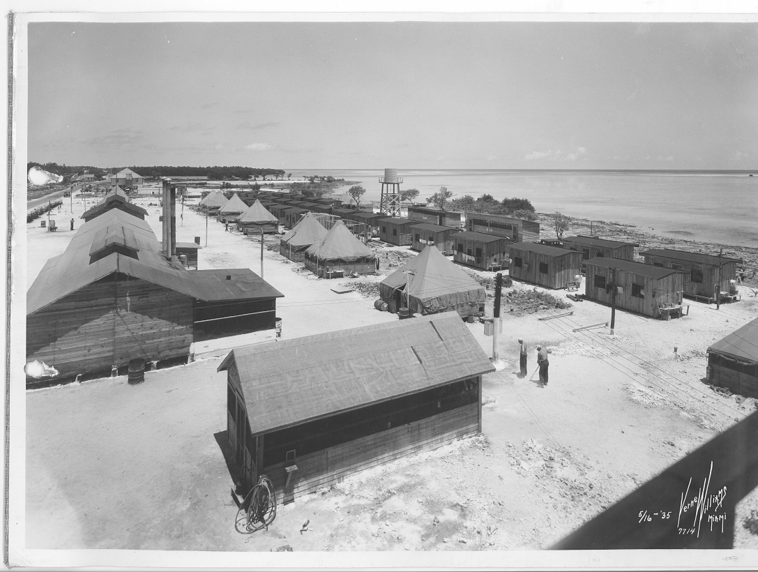 Photograph of Veteran's Camp before the Labor Day Hurricane
