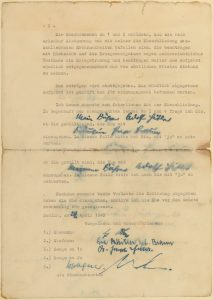 Marriage Certificate of Eva Braun and Adolph Hitler, p2