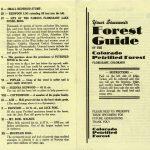 Souvenir guide from Colorado Petrified Forest