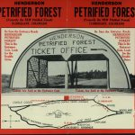 Front cover of Henderson, later named Pike, Petrified Forest