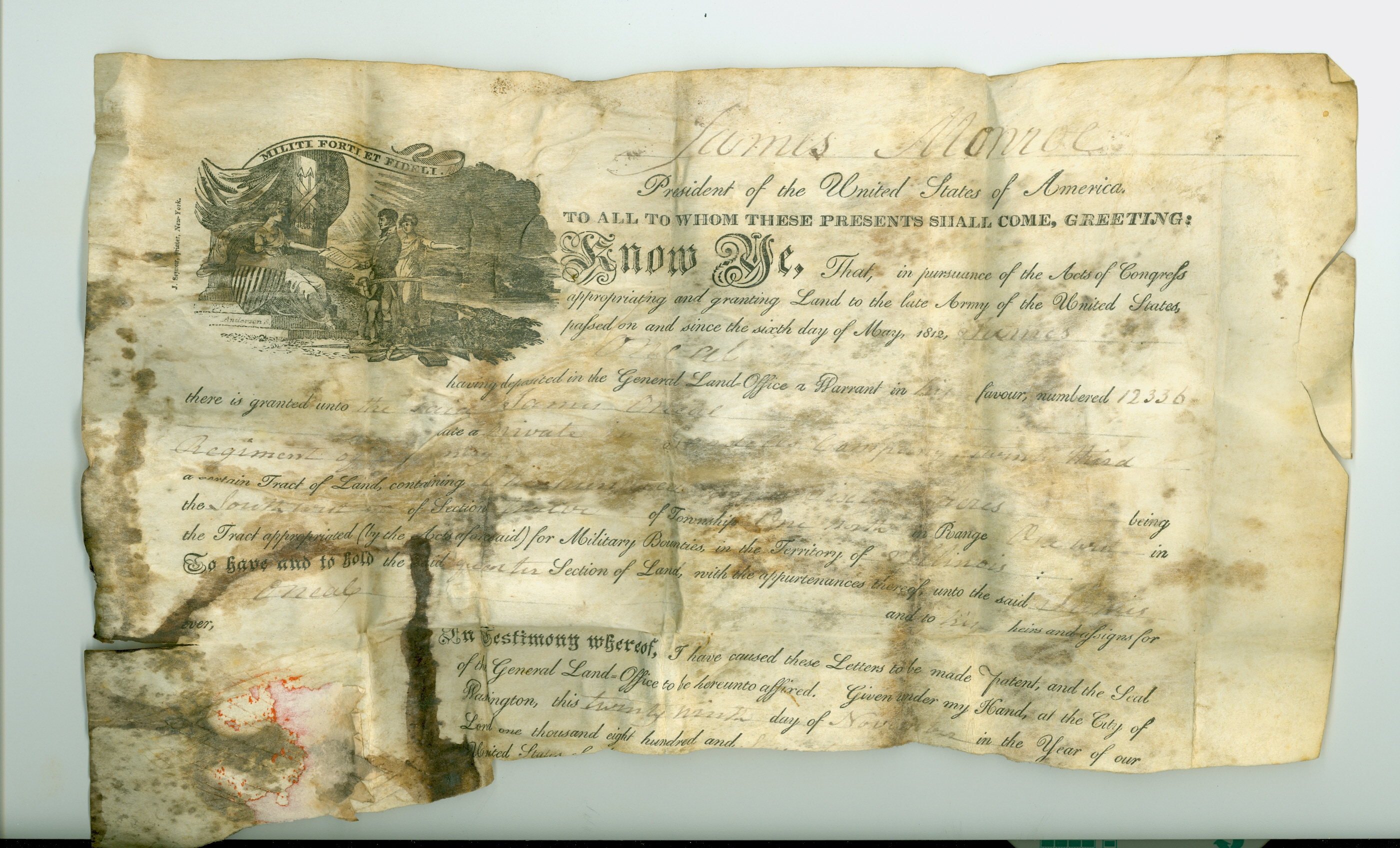 Parchment orphan records