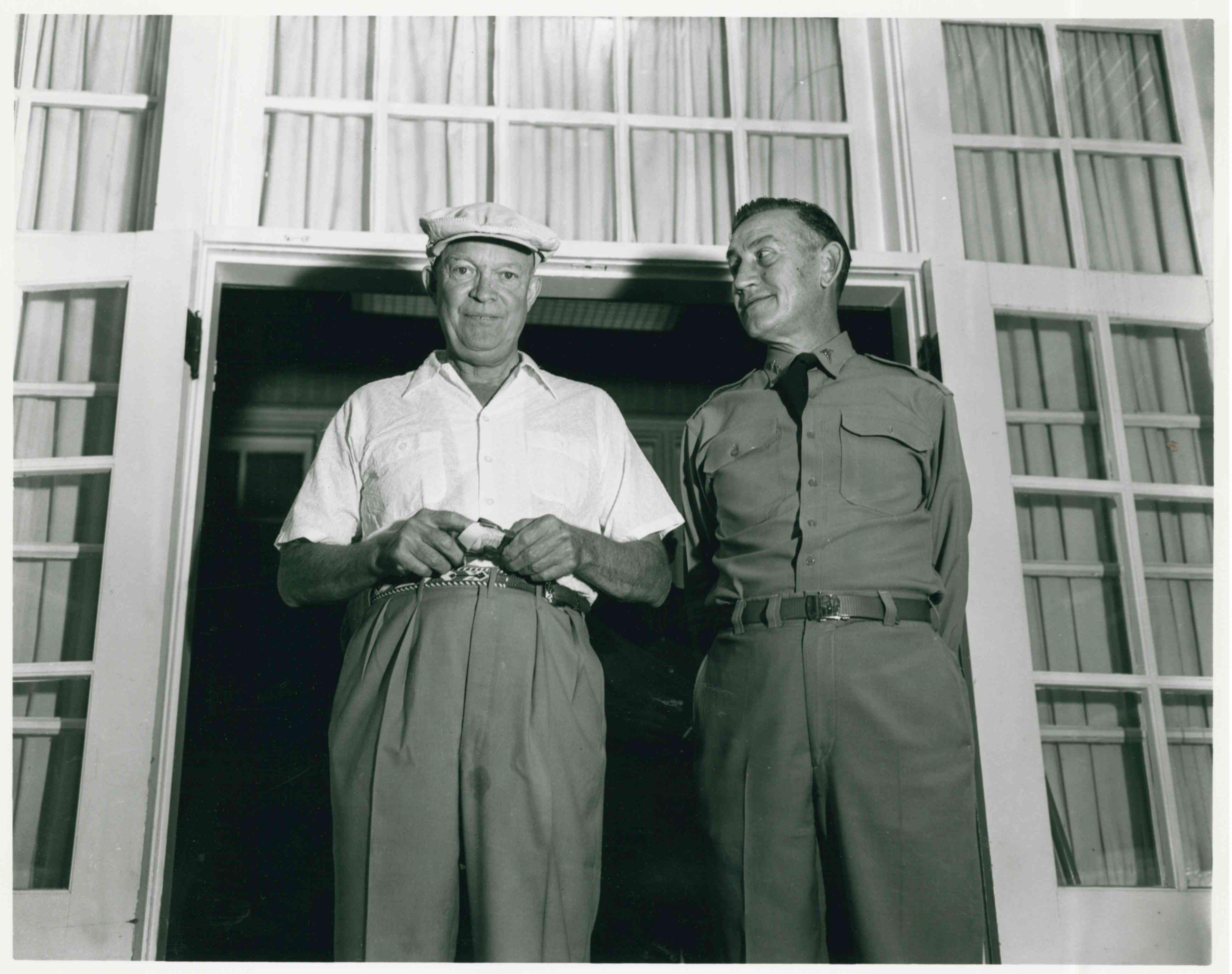 Ike Prior to Heart Attack
