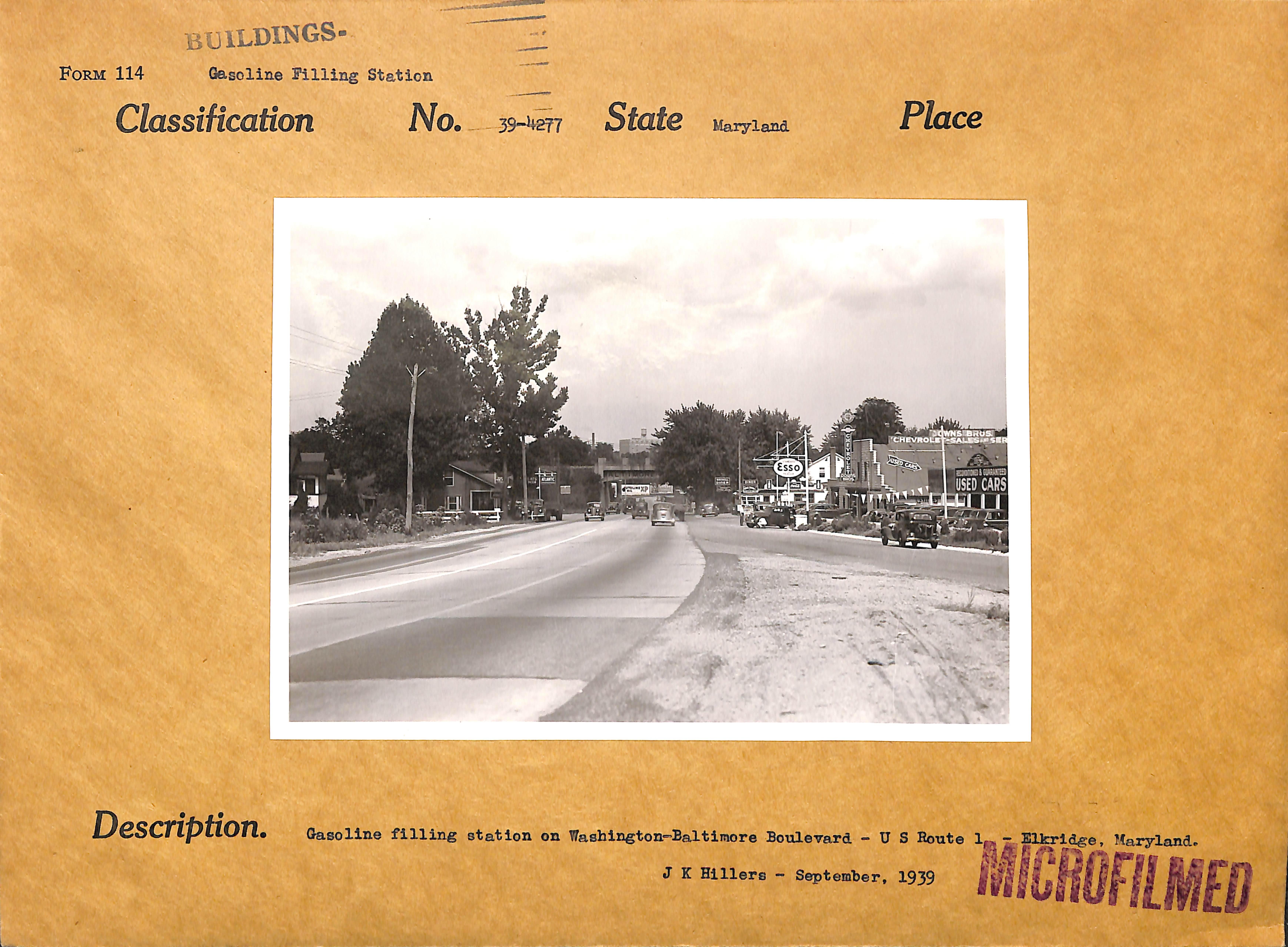 photograph of street scene