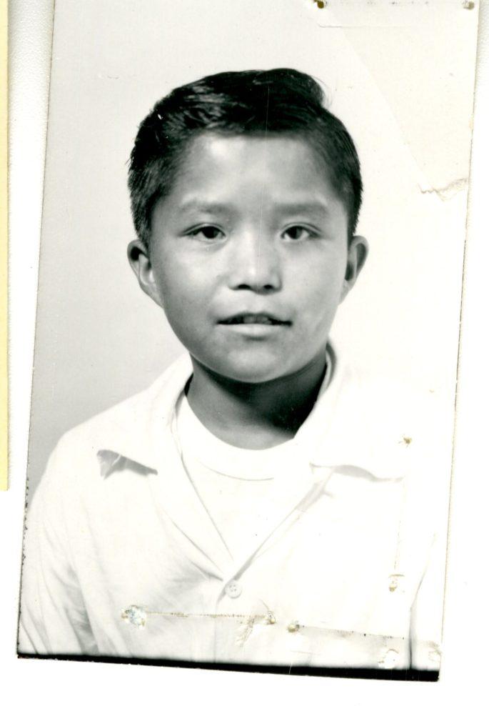 Tony Dedman school portrait